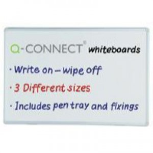Q-Connect Dry Wipe Board 900x600mm