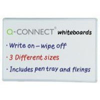 Q-Connect Dry Wipe Board 1800x1200mm