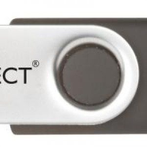 Q-Connect 4GB USB Flash Drive White QCONFD4GBEVO