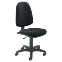Jemini High Back Operator Chair Charcoal