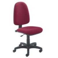 Jemini High Back Operators Chair Claret
