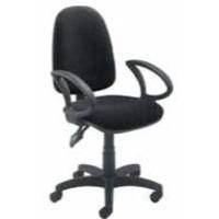 Jemini High Back Tilt Operator Chair Charcoal