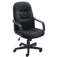 Jemini High Back Manager Chair Charcoal