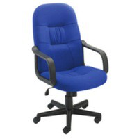 Jemini High Back Manager Chair Blue