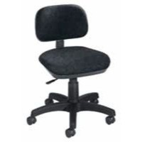 Image for Jemini Gas-Lift Typists Chair Charcoal