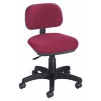 Jemini Gas-Lift Typists Chair Claret