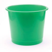 Q-Connect Waste Bin 15 Litre Green