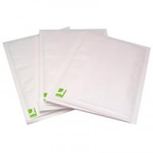 Q-Connect Bubble-Lined Envelope Size 1 White Pk 100 KF71447
