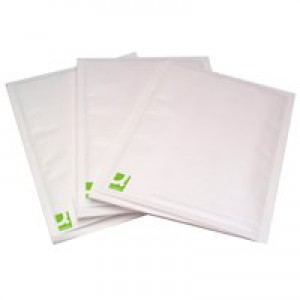 Q-Connect Bubble-Lined Envelope Size 1 White Pack of 100 KF71447