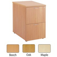 Jemini 2-Drawer Filing Cabinet Beech