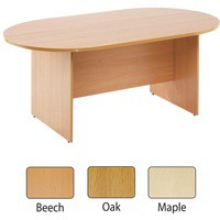 Image for Arista 1800mm Rectangular Meeting Table Maple