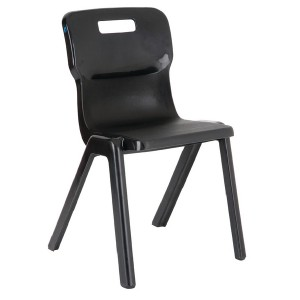 Titan One Piece School Chair Size 5 Charcoal KF72172