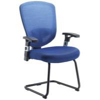 Arista Mesh Visitor Chair Blue