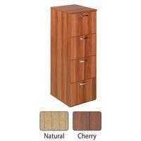 Avior 4-Drawer Filing Cabinet Cherry
