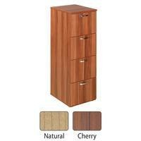 Avior 4-Drawer Filing Cabinet Natural