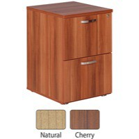 Image for Avior 2-Drawer Filing Cabinet Natural