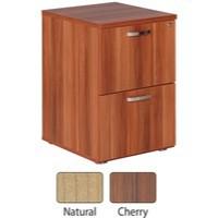 Avior 2-Drawer Filing Cabinet Natural