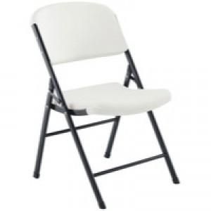 Jemini Folding Chair White KF72332