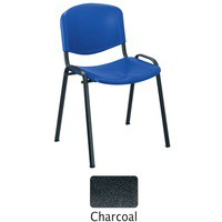 Jemini Multi-Purpose Polypropylene Stacking Chair Black