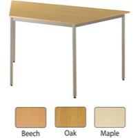 Jemini Trapezoid Table 1600x800mm Beech