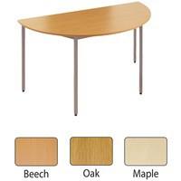 Jemini Semi-Circular Table 1600mm Maple