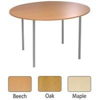 Jemini Circular Table 1200mm Maple