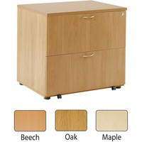 Arista Desk High Side Filer Maple