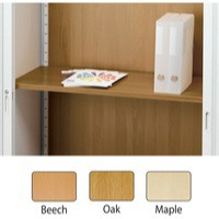 Arista Adjustable Wooden Shelf Maple