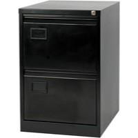 Jemini 2-Drawer Filing Cabinet Black