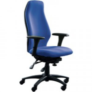 Avior Super Deluxe Extra High Back Posture Chair Blue KF72588