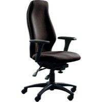 Avior Super Deluxe Extra High Back Posture Chair Black
