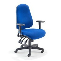 Avior High Back Posture Chair Blue
