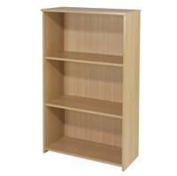 Jemini 1200mm Medium Bookcase Warm Maple