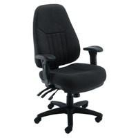Arista Lucania Task Chair Black