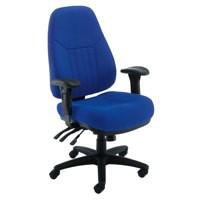 Arista Lucania Task Chair Blue