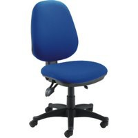 Jemini Plus Deluxe High Back Operator Chair Blue Ch1801