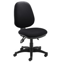 Jemini Plus Deluxe High Back Operator Chair Charcoal Ch1801