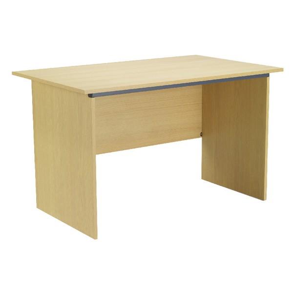 Jemini Intro Panel End Desk 1000mm Ferrera Oak