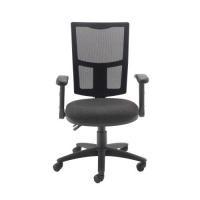 Arista High Back Mesh Task Chair Black