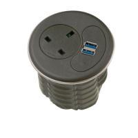 Jemini Black Cable Port Power Module