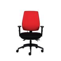 Jemini High Back Task Chair Black