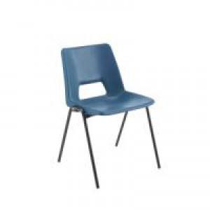 Jemini Classroom Chair Blue 260mm KF74980
