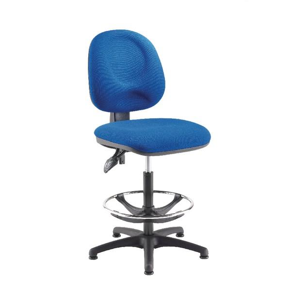 Arista Adjustable Draughtsman Chair Blue