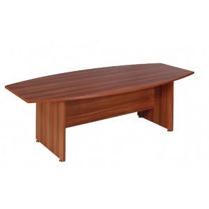 Avior 2400mm Boardroom Table Cherry KF838263