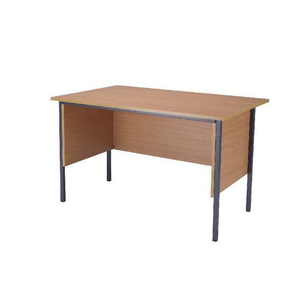 Jemini Intro 1200mm 4 Leg Desk Bavarian Beech