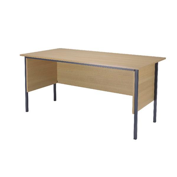 Jemini 1500mm 4 Leg Desk Ferrera Oak