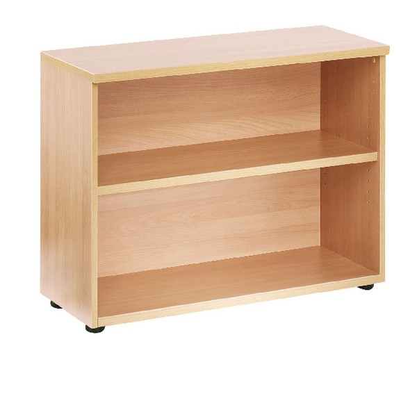 Jemini 730mm Bookcase 1 Shelf Oak
