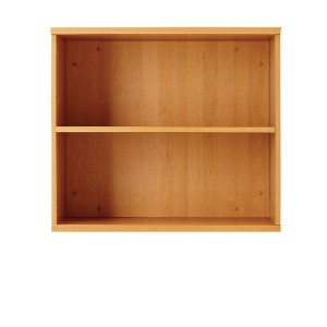 Jemini 1000mm Bookcase 1 Shelf Oak KF838417