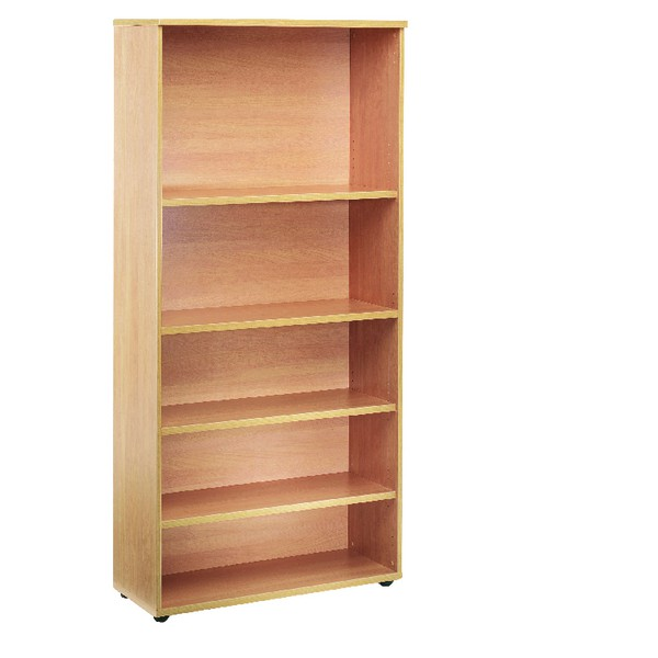 Jemini 1800mm Bookcase 4 Shelf Oak