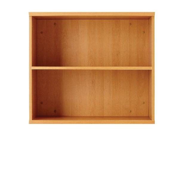 Jemini 1000mm Bookcase 1 Shelf Maple